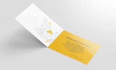 Ikona - Zaproszenia foliowane