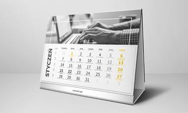 Ikona - Kalendarze biurkowe z wklejanym kalendarium