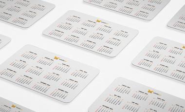 Ikona - Kalendarzyki listkowe