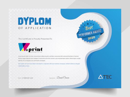 Dyplomy i certyfikaty