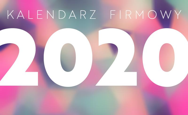 Kalendarz firmowy 2020? Pomyśl o nim latem!