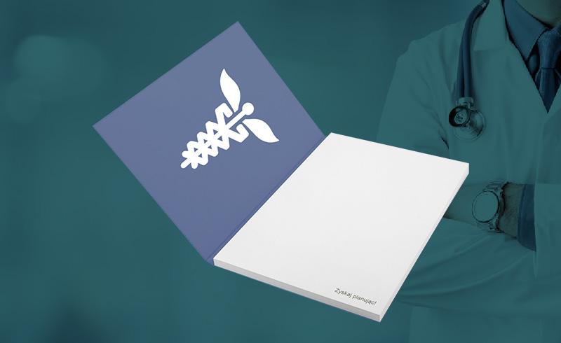 Kalendarze i notesy dla branży medycznej