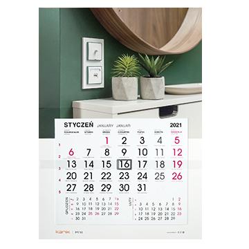 Kalendarz jednodzielny 480 x 680