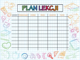 plan lekcji 3