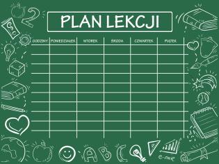 plan lekcji 5