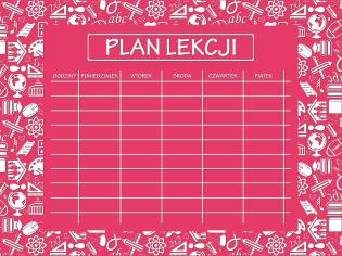 plan lekcji 6