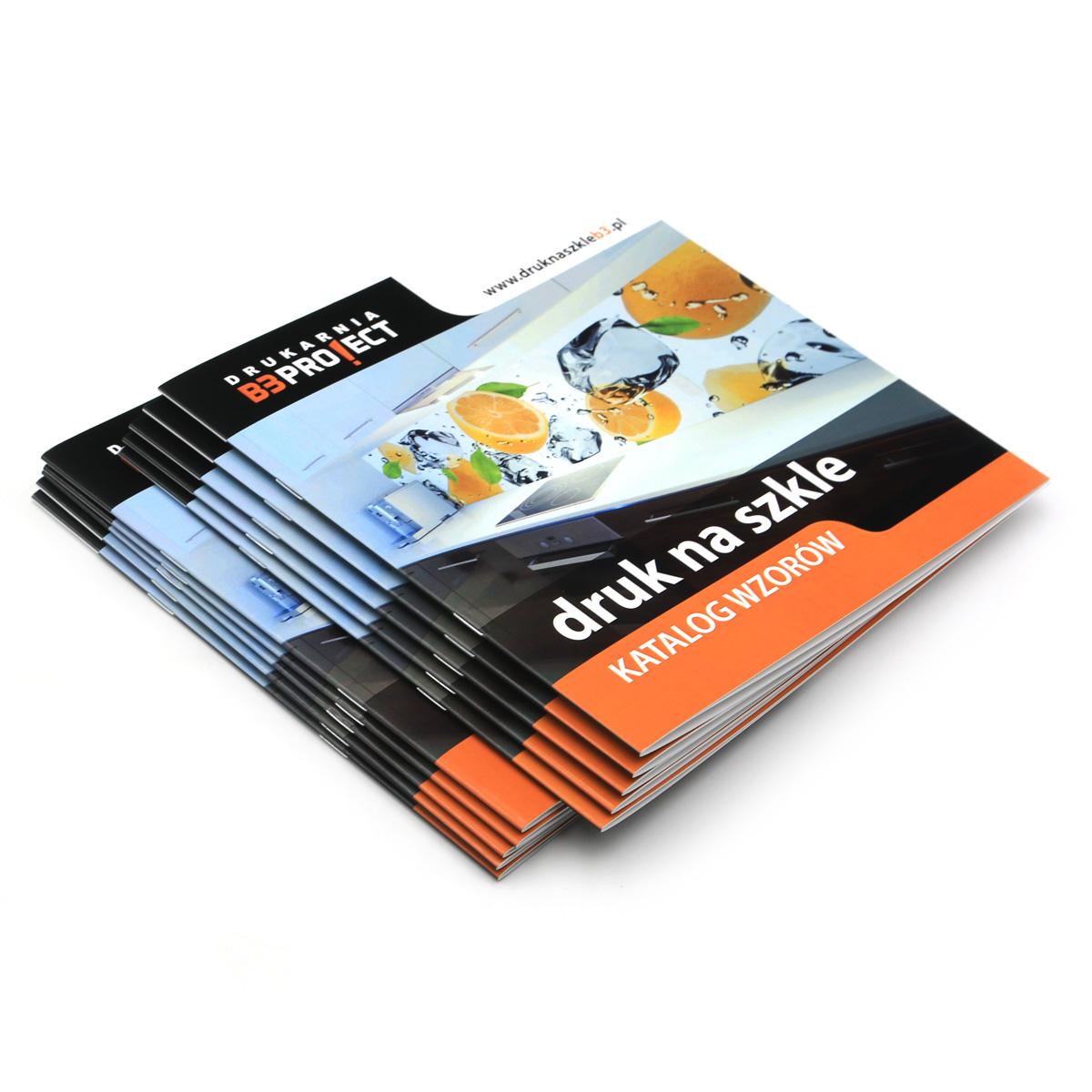 Katalogi szyte zeszytowo